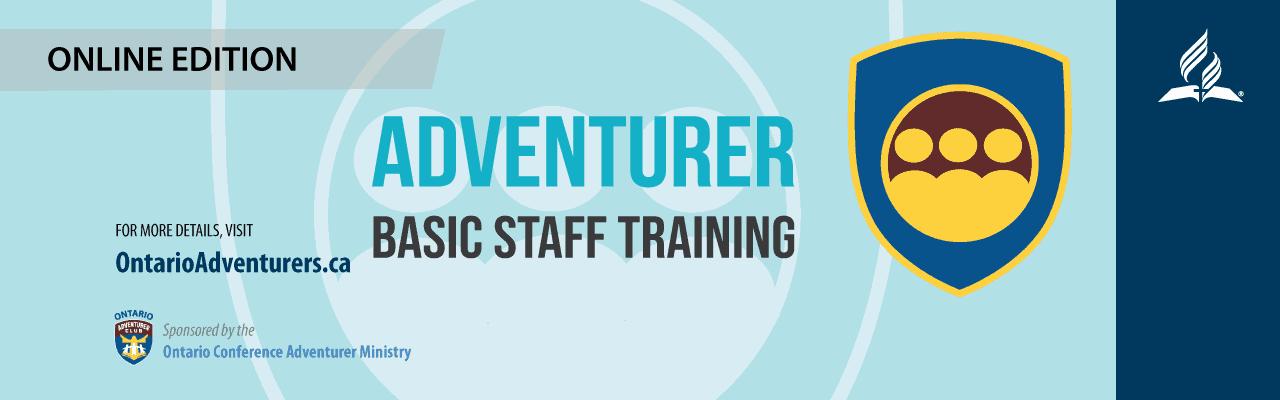 Adventurer Basic Staff Training – Feb. 7, 2021